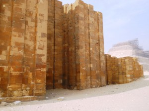 Enclosure walls to the complex of Djoser in Saqqara