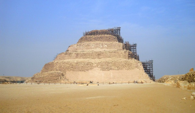 Step pyramid of Djoser in Saqqara
